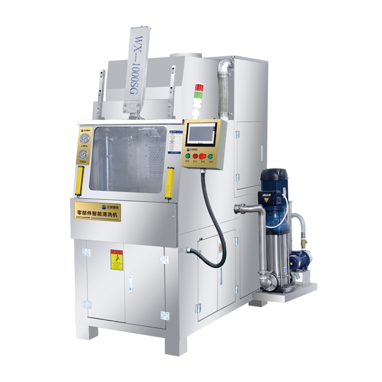 WX-1000SG双头高速零部件智能清洗机